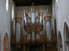 Eglise Saint-Martin - Église Saint-Martin de Vertus (Marne, France), orgue