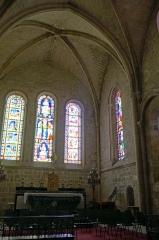 Eglise Saint-Martin - Église de Vertus, l'autel du coeur.