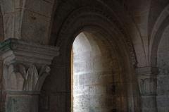Eglise Saint-Martin - Église de Vertus, détail d'une crypte.
