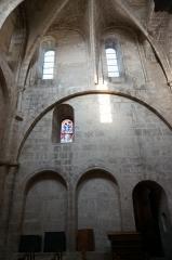 Eglise Saint-Martin - Église de Vertus, son transept sud .