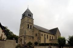Eglise - English: Villers-Allerand, the Église Sainte-Agathe