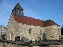 Château - English: Saint Pierre Church of Villers-aux-Bois , Marne, France