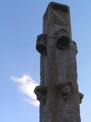Calvaire (restes) - Français:   Calvaire de Vitry-en-Perthois (Classé)