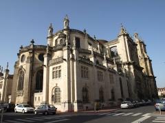Eglise Notre-Dame -  Vitry-le-François (51300 - FRANCE): photographies  Vitry-le-François (51300 - FRANCE):  collégiale Notre-Dame