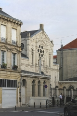 Synagogue - English: Reims, the synagogue