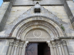 Eglise - This building is indexed in the Base Mérimée, a database of architectural heritage maintained by the French Ministry of Culture,under the reference PA00078955 .