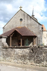 Eglise de Villars-Saint-Marcellin - English: Saint-Marcellin church in Villars-Saint-Marcellin, a hamlet of Bourbonne-les-Bains, France.