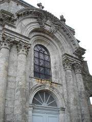 Eglise Notre-Dame - Français:   Façade de l\'église Notre-Dame à Bourmont (Haute-Marne)