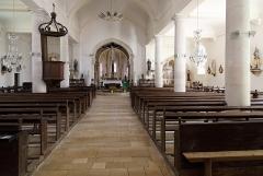 Eglise - Nederlands: Colombey-les-Deux-Eglises (departement Haute-Marne, Frankrijk): interieur van de Maria-Tenhemelopnemingkerk (Église Notre-Dame-de-l'Assomption)