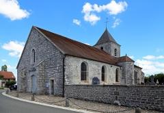Eglise - Nederlands: Colombey-les-Deux-Eglises (departement Haute-Marne, Frankrijk): de Maria-Tenhemelopnemingkerk (Église Notre-Dame-de-l'Assomption)