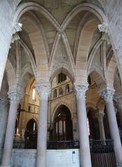 Cathédrale Saint-Mammes - Intérieur de la cathédrale Saint-Mammès de Langres (52). Voûtes du déambulatoire.