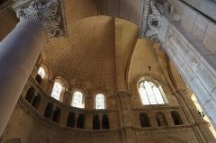 Cathédrale Saint-Mammes - Intérieur de la cathédrale Saint-Mammès de Langres (52). Voûtes du chœur.