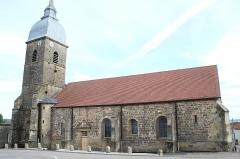 Eglise Saint-Blaise - English: Saint-Blaise church in Serqueux, Haute-Marne, France.