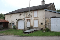 Maison Baude - English: Baude house at 7 Mont street in Serqueux, Haute-Marne, France.