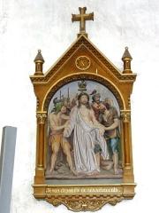 Eglise Saint-Martin - Église Saint-Martin de Doulaincourt, chemin de croix, station 10