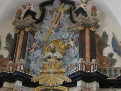 Eglise Saint-Martin - Doulaincourt, église Saint-Martin, retable du maître-autel, détail
