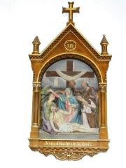 Eglise Saint-Martin - Église Saint-Martin de Doulaincourt, chemin de croix, station 13