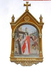 Eglise Saint-Martin - Église Saint-Martin de Doulaincourt, chemin de croix, station 02