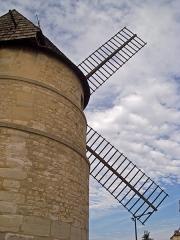 Moulin à vent - English: Moulin de la Tour, Ivry-sur-Seine, Val-de-Marne, France.
