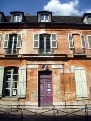 Maison natale d'Eugène Delacroix - English: Birthplace of Eugène Delacroix in Saint-Maurice, Val-de-Marne, France.