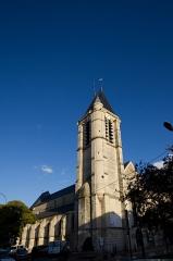 Eglise Saint-Cyr-Sainte-Julitte - Français:   St Cyr - ste Julitte-clocher