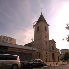 Eglise Saint-Leu-Saint-Gilles - English: Église Saint-Leu-Saint-Gilles, Bagnolet, Seine-Saint-Denis.