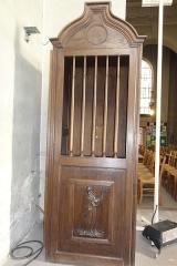 Eglise Saint-Germain - English: Église Saint-Germain de Pantin, confessional