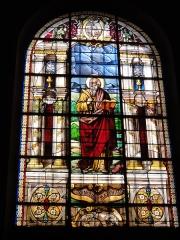Eglise Saint-Germain - English: Église Saint-Germain de Pantin, vitrail 02 sanctus Mattheus