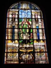 Eglise Saint-Germain - English: Église Saint-Germain de Pantin, vitrail 03 sanctus Germanus
