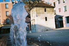 Eaux du Pré-Saint-Gervais : Fontaine du Pré-Saint-Gervais - Français:   Fontaine du Pré-Saint-Gervais