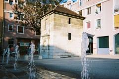 Eaux du Pré-Saint-Gervais : Fontaine du Pré-Saint-Gervais - Français:   Fontaine du Pré Saint Gervais