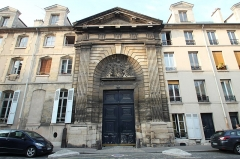 Ancien couvent des Ursulines - English: Ursulines convent located at 16 Ursulines street in Saint-Denis, France