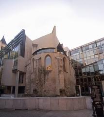 Eglise des Trois-Patrons  et vestiges du cimetière mérovingien - English: Église des Trois-Patrons, Saint-Denis, Seine-Saint-Denis, France.