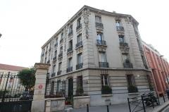 Immeuble - English:   15 Ursulines street in Saint-Denis, France