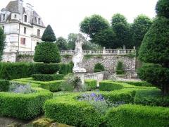 Château -  Jardin du chateau d'Ambleville, Val d'oise, France