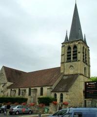 Eglise Saint-Rémi - English: churche of Asnières-sur-Oise