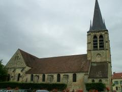 Eglise Saint-Rémi - English: Saint-Rémi church of Asnières-sur-Oise, France.