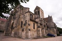 Eglise Notre-Dame -  L'église Notre-Dame d'Auvers (Auvers-sur-Oise, France)