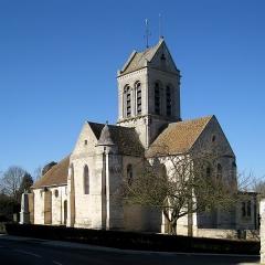 Eglise Saint-Crépin-Saint-Crépinien -  Coté est de l'église Saint-Crépin-et-Saint-Crépinien, Bréançon, Val d'Oise, France