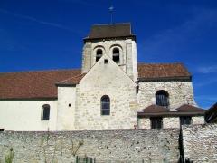 Eglise Saint-Martin - Français:   L\'église Saint-Martin, vue partielle depuis le sud.