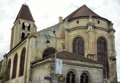 Eglise Saint-Martin - Deutsch: katholische Pfarrkirche Saint-Martin in fr:Groslay