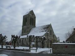 Eglise Saint-Clair - Français:   église saint claire, Hérvouville, Val-d\'Oise France