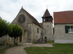 Eglise - English: Church of Labbeville, Val-d'Oise, France.