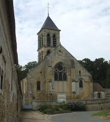 Eglise - English: Churches of montgeroult