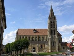 Eglise Saint-Symphorien - English: Church of Nesles la Vallée, Vexin français, Val d'Oise, Ile de France