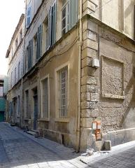 Château - English: Hôtel de Barrême - Arles (Bouches-du-Rhône, France)