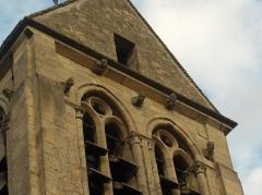 Eglise de Jouy-le-Comte -  Détail du clocher de l'Eglise de Jouy-le Comte à Parmain