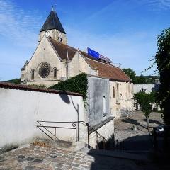 Eglise Saint-Germain - English: Église Saint-Germain-l'Auxerrois, Presles, France.