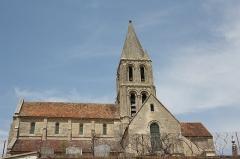 Eglise - Deutsch: katholische Kirche Saint-Sulpice in Santeuil