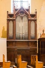 Cathédrale Saint-Jérôme - Français:  Orgue de chœur de la cathédrale Saint-Jérôme de Digne-les-Bains (France).